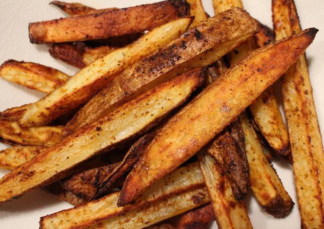 Resep Cajun Baked Fries