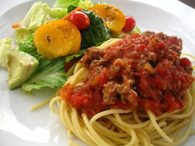 Kid-Friendly Meat Sauce for Pasta