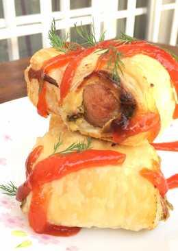 Cheddar Apple Chicken Sausage Bites - West of the Loop |Mini Sausage Bites