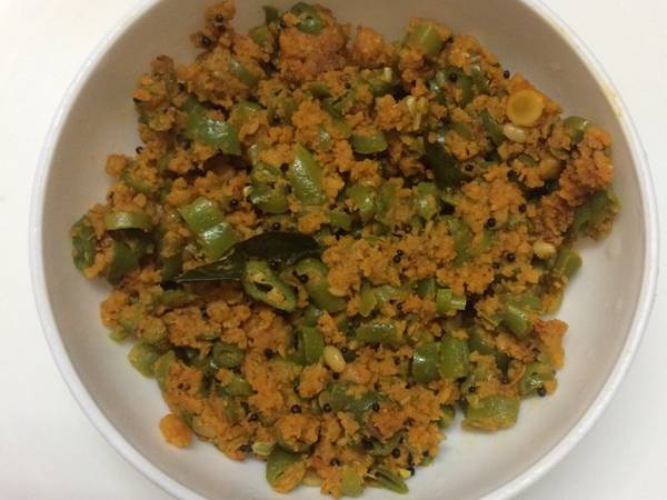 Parapu usili(South Indian Subji)(rich in protein)