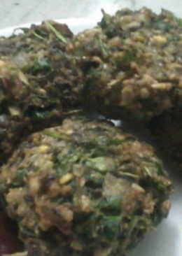 Leafy multy grain snack