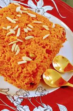 resep masakan gajar carrot halwa