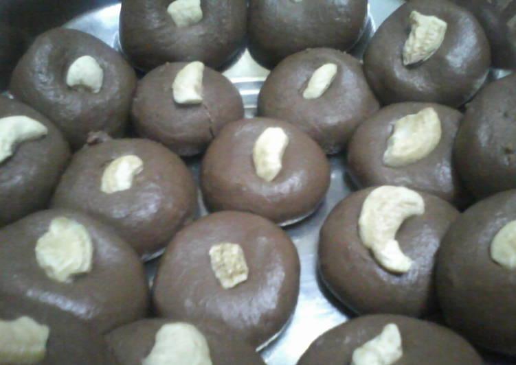 Choclate doodh peda