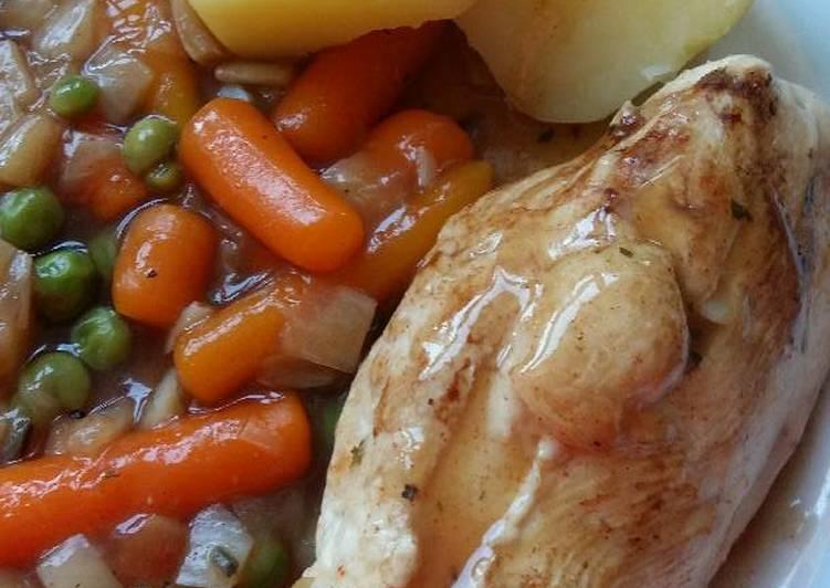 Vickys Simple Chicken Casserole, GF DF EF SF NF