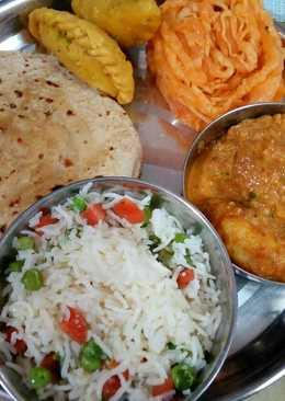 Holi special dinner