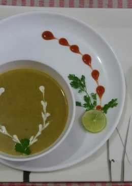 Vegetable and dal soup