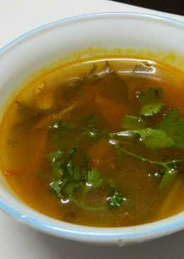 Herb soup (Rasam)