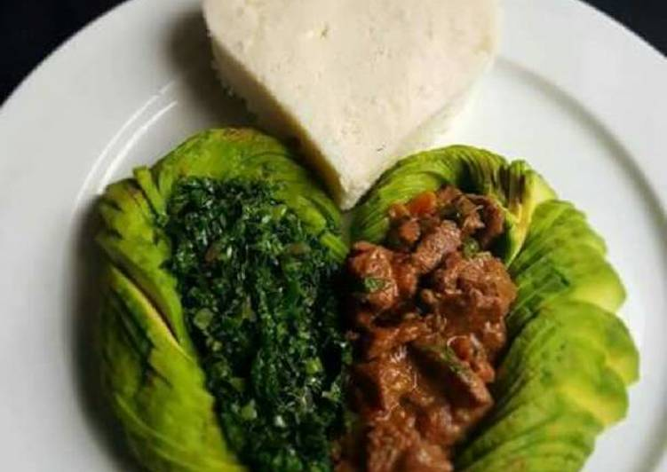 Simple Cake Recipes In Kenya: Beef Wet Fry With Ugali Recipe By Queentalice Akinyi