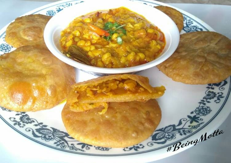 Dal Puri with Bihar Style Dal Fry
