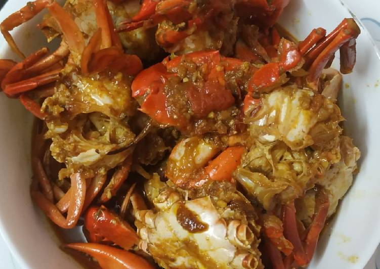 Crab curry Recipe by Sanchita Das - Cookpad
