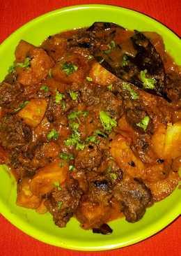 Aalo or masala bdi ki sabji