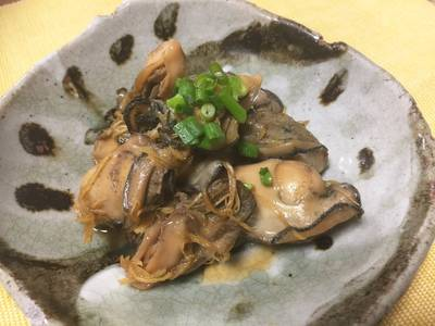 Japanese Soy Ginger Oyster