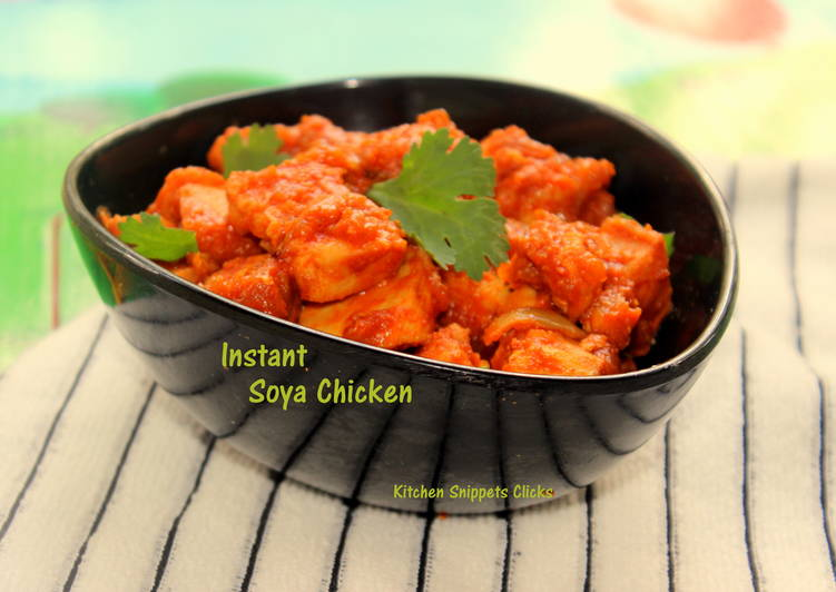 Instant Soya Chicken