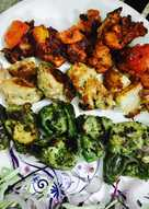 Tricolour Chicken Tikka
