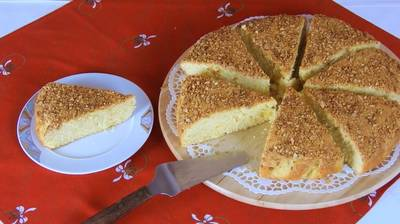 New Year's Day Cake with Tsoureki Flavor