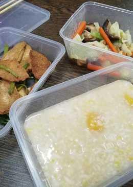Mix sweet potatoes porridge