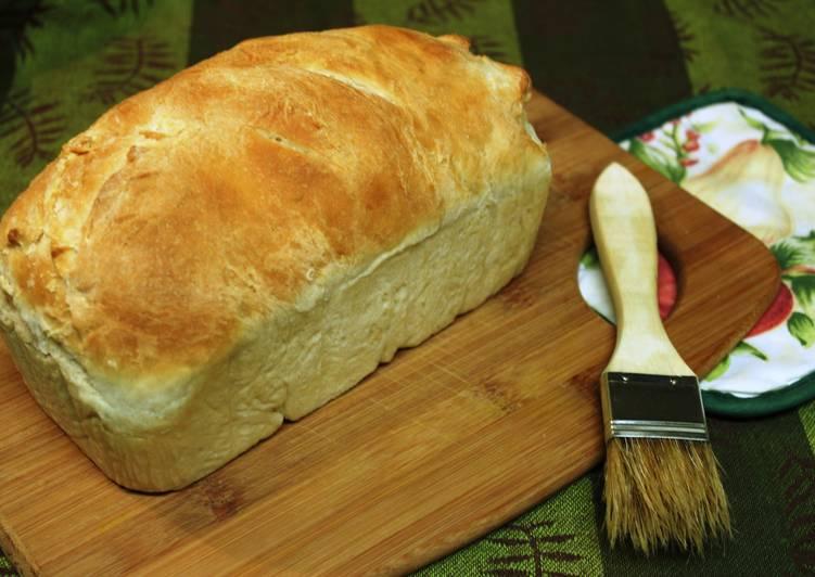 Sweet white bread
