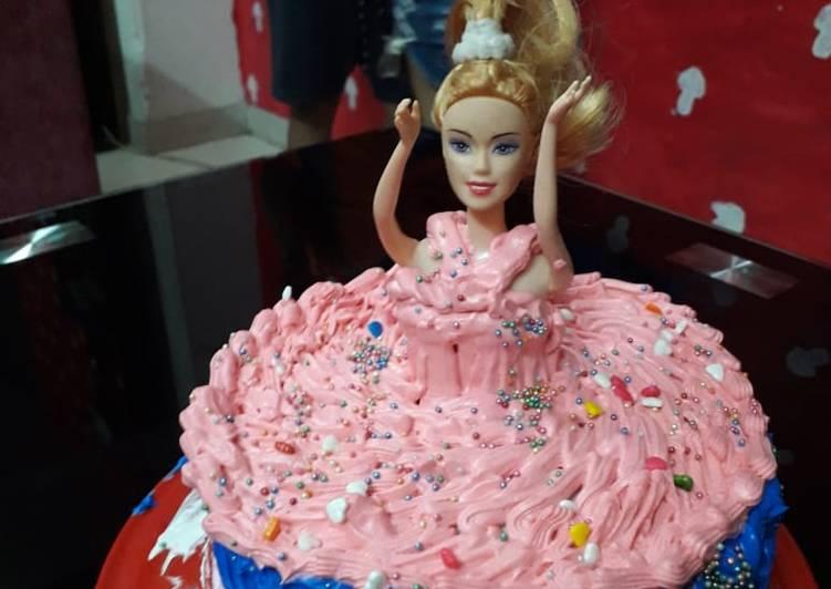 Doll Cake Recipe By Isha Sharma Cookpad Kenya