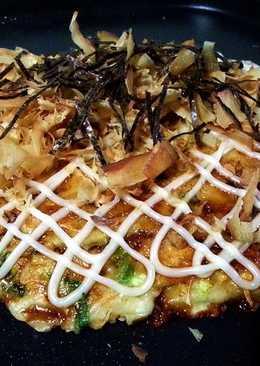 Okonomiyaki ~ Japanese flavor