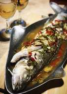 resep masakan steamed fish with thai sauce
