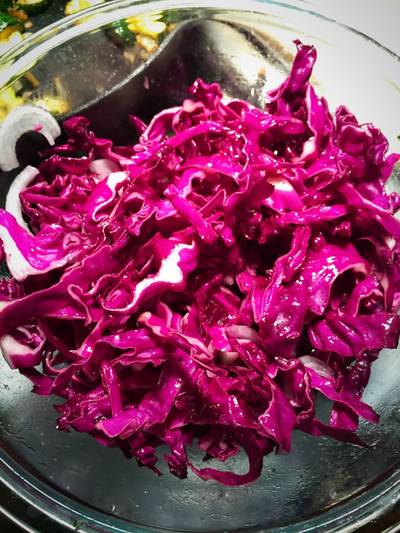 "Mexican Cabbage ""Slaw"""