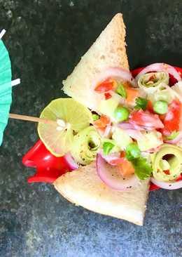 Summer Toast Salad