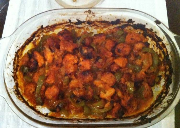 Baked Fish (Indian Style)