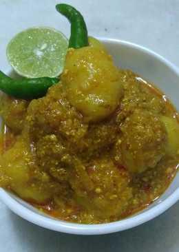 Spicy Aloo dum