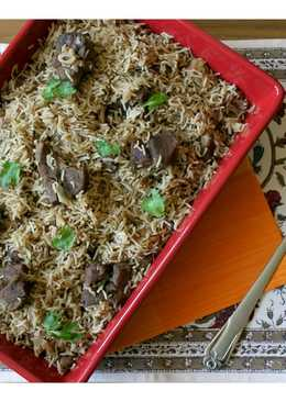 Mutton Pulao - Pakistani Style Spice Infused Mutton Pulao