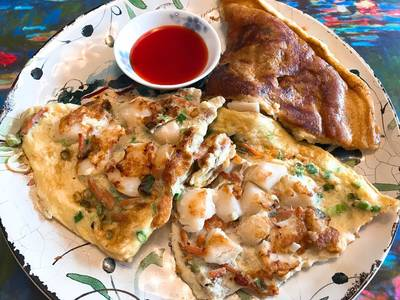 Scallop Egg Foo Young