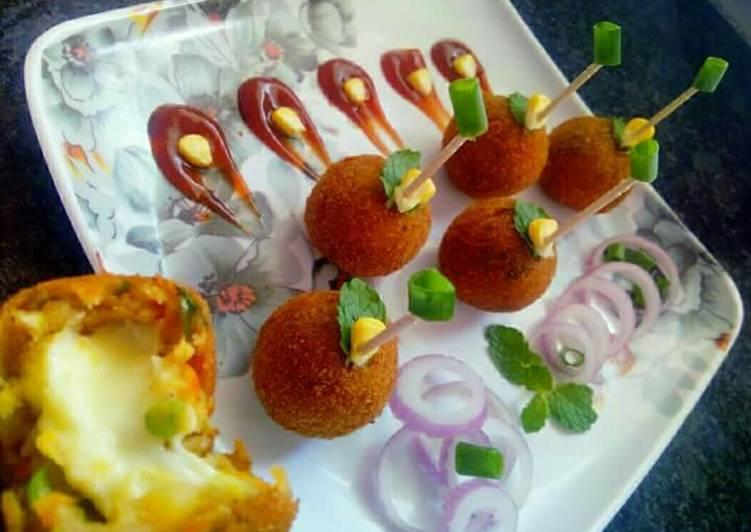 Vegetable cheese balls recipe by aarti jain cookpad vegetable cheese balls forumfinder Images