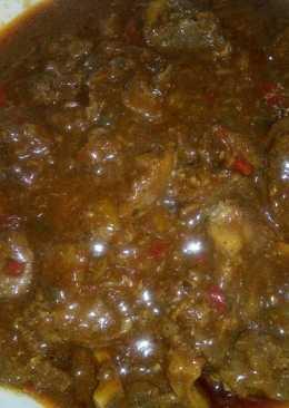 Sunday beef stew