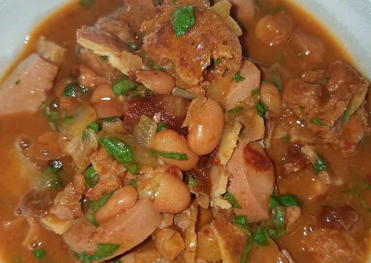Frijoles Charros Recipe by SANCHEZ - Cookpad