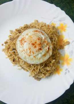 Easy egg maggi