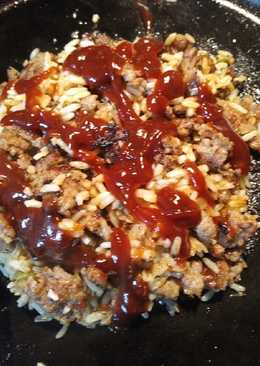Sausage and Jalapeño Parched Rice