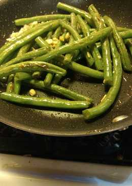Stir Fry Garlic Green Beans