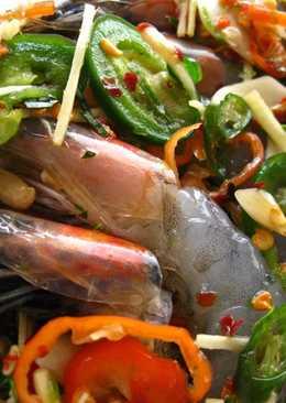 Thai-Korean Inspired Preserved Shrimp (Gejang Style Koong Chae Nam Pla)