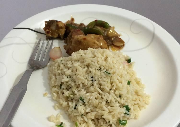 Butter Garlic Rice