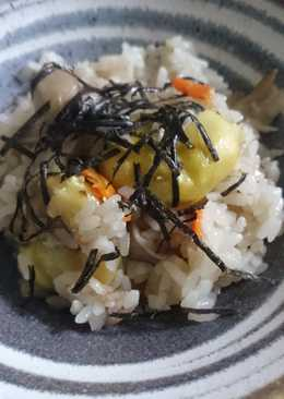 Easy and fragrant! Chestnut Rice
