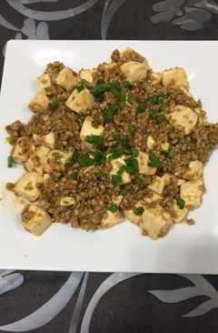 resep masakan ma po tofu
