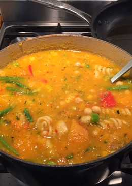 Chunky Vegetable Soup - For Children Who Don't Like Vegetables!