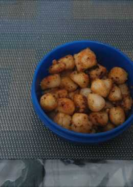 Ammini kozhukattai - Steamed Rice dumplings