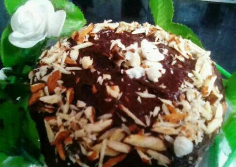 Cake Ki Recipe Kadai Mein: Unbaked Chocolate Biscuits Cake Recipe By Sharma Divya