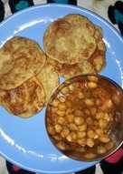 Chole or cheakpea curry