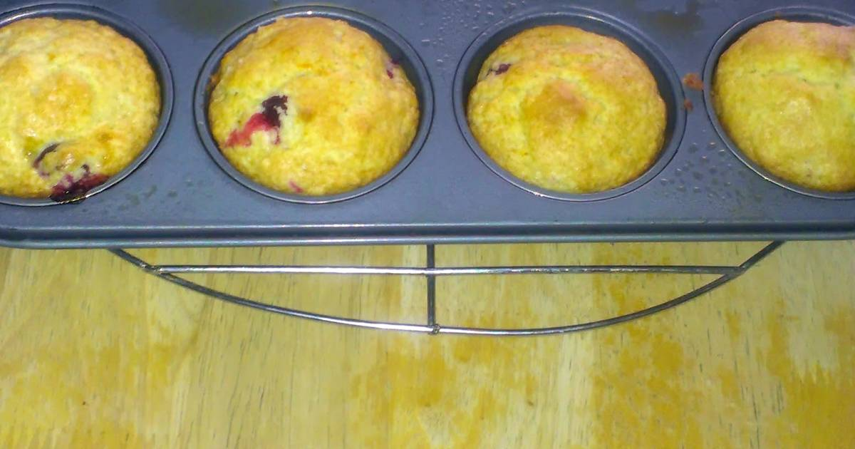 Cranberry orange muffin recipes - 14 recipes - Cookpad