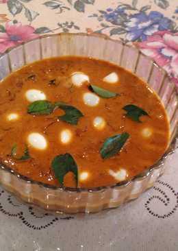 Quail Egg curry