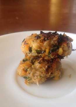 Fish veggie croquettes