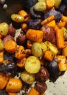 Potatoes with Carrots