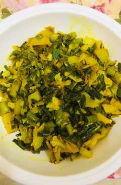 resep masakan spring onion veg