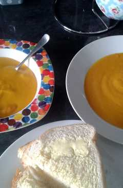 resep masakan thick carrot and lentil soup